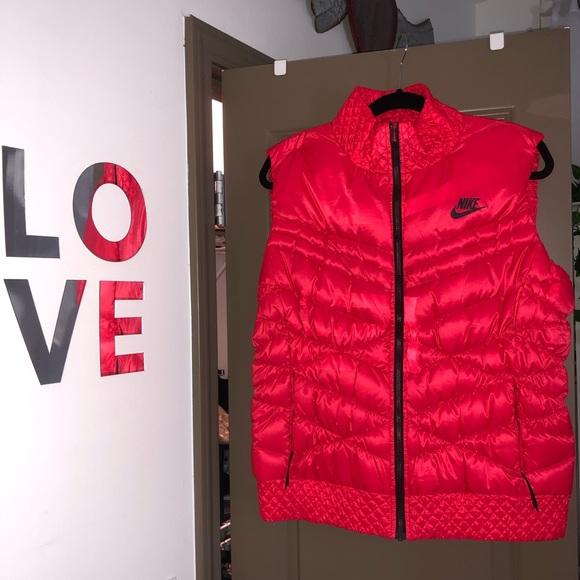 Nike Jackets & Blazers - Nike red vest